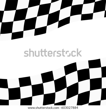 racing background checkered flag vector illustration stock vector