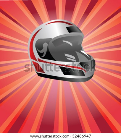 racing poster - stock vector
