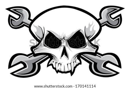 racing skull stock vector royalty free 170141114 shutterstock