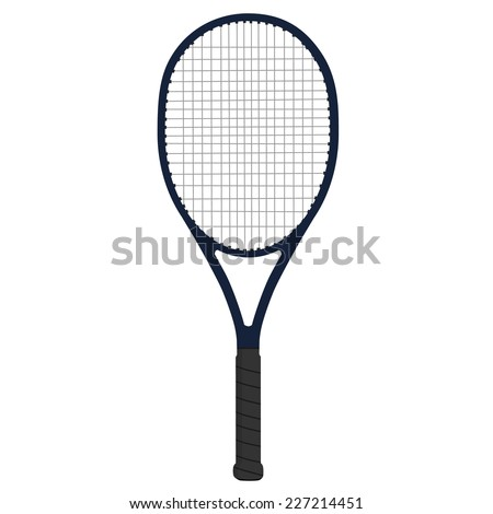 Racket tennis, sport racket, racket, racket tennis isolated - stock vector