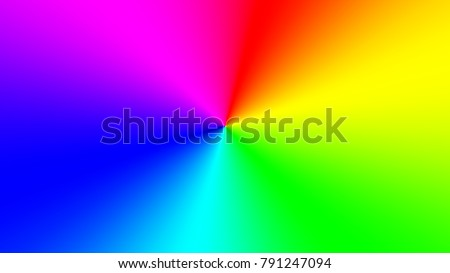 Radial rainbow gradient widescreen rectangle abstract stock vector radial rainbow gradient in a widescreen rectangle abstract colored wallpaper for a bright design voltagebd Image collections