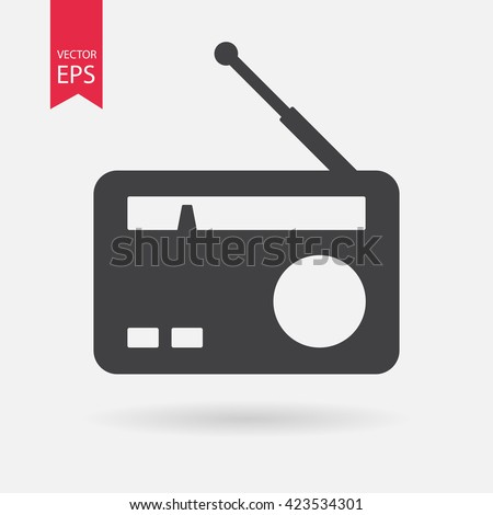 Radio icon, Radio icon vector, Radio icon eps10, Radio icon, Radio icon eps, Radio icon jpg, Radio icon flat, Radio icon app, Radio icon web, Radio icon art, Radio icon, Radio icon AI, Radio icon - stock vector