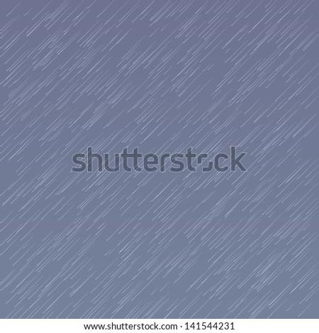 Rain - stock vector