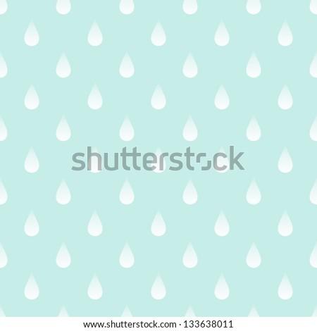 rain background - stock vector