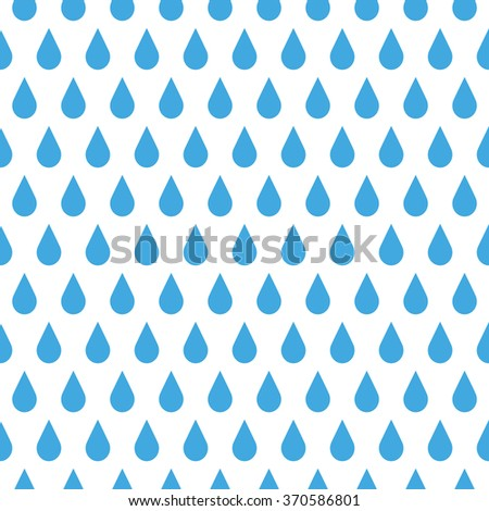 Rain Seamless Vector Pattern Background Stock Vector 292654169