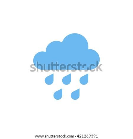Rain Icon, Rain Icon Vector, Rain Icon Flat, Rain Icon Sign, Rain Icon App, Rain Icon UI, Rain Icon Art, Rain Icon Blue, Rain Icon Web, Rain Icon Color, Rain Icon JPG, Rain Icon JPEG, Rain Icon EPS - stock vector