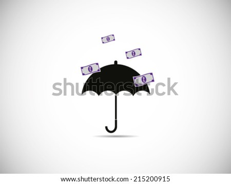 Rain Pound Sterling Great Success - stock vector