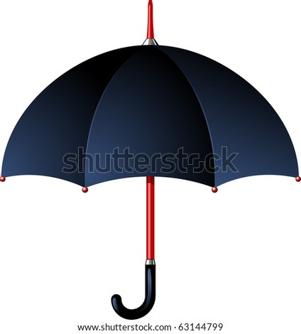 Rain umbrella - stock vector