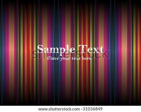 rainbow abstract background with sample text