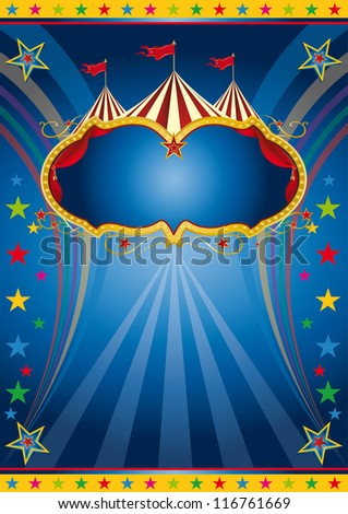 Rainbow circus vintage. A colored background for a party.