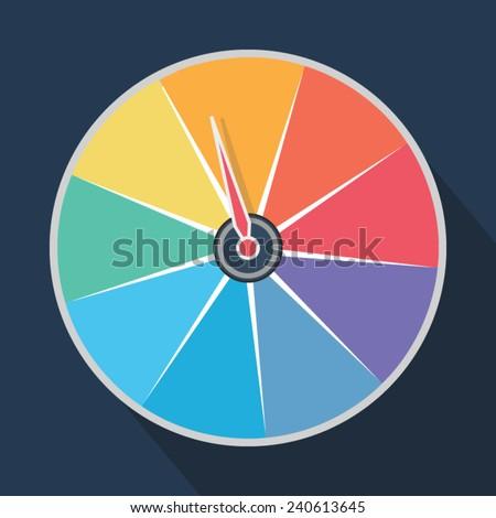 Colors roulette vodka roulette
