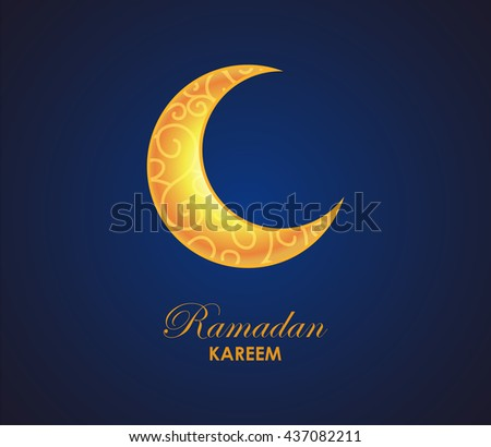 Ramadan Kareem Background.Vector - stock vector