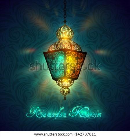 Ramadan Kareem celebration - eps10 - stock vector
