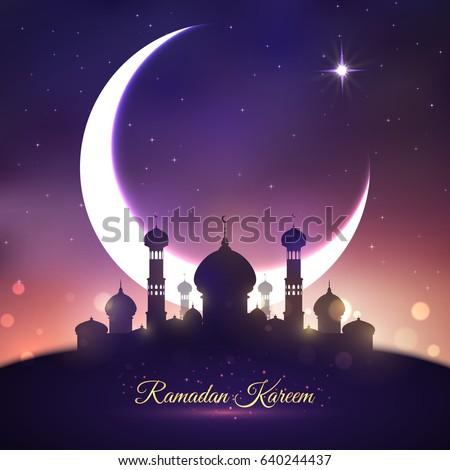Ramadan kareem greetings mosque moon muslim stock vector royalty ramadan kareem greetings mosque moon muslim stock vector royalty free 640244437 shutterstock m4hsunfo