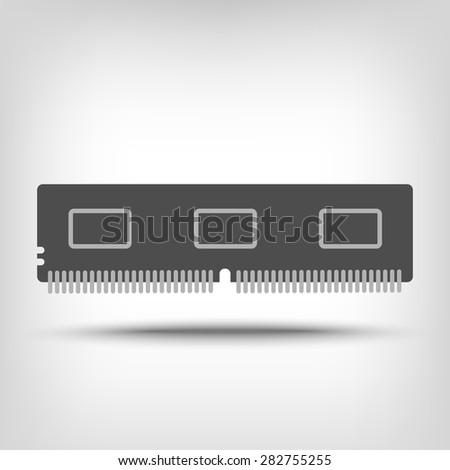 Random access memory icon as a concept - stock vector