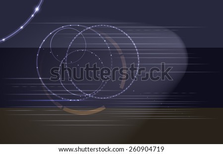 Raster Abstract Modern Background - stock vector