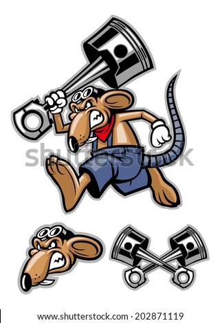 Gambar Weapons Armor Viking Vector Illustration Stock 379523863 Rat