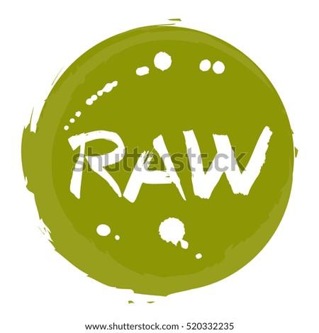 Raw Logo Stock Vectors, Images & Vector Art   Shutterstock