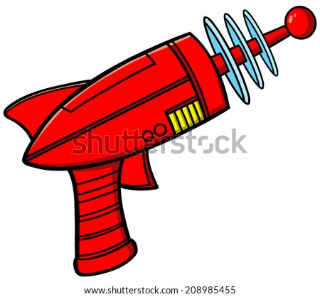 Ray Gun - stock vector