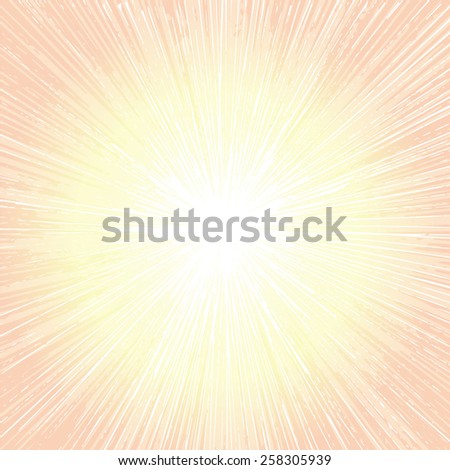rays of the sun  - stock vector