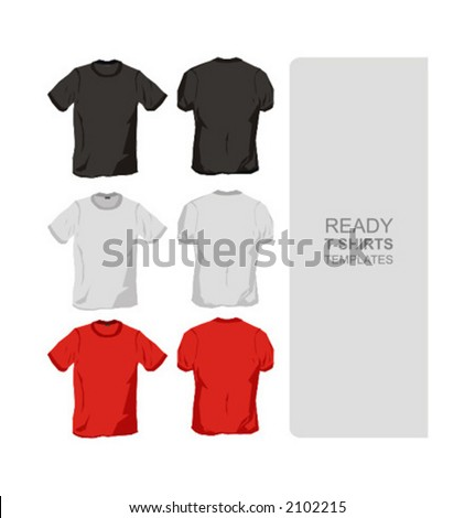 ready t-shirts templates