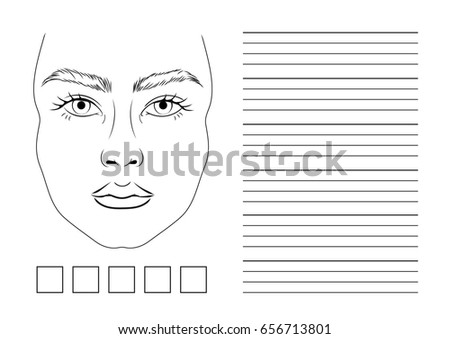 facechart stock images royalty free images vectors shutterstock. Black Bedroom Furniture Sets. Home Design Ideas