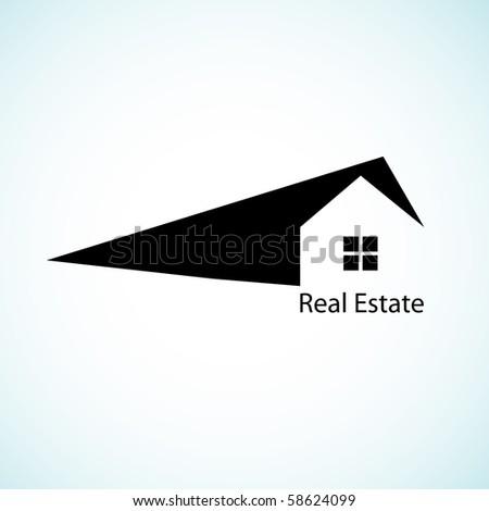 Real estate concept design. - stock vector