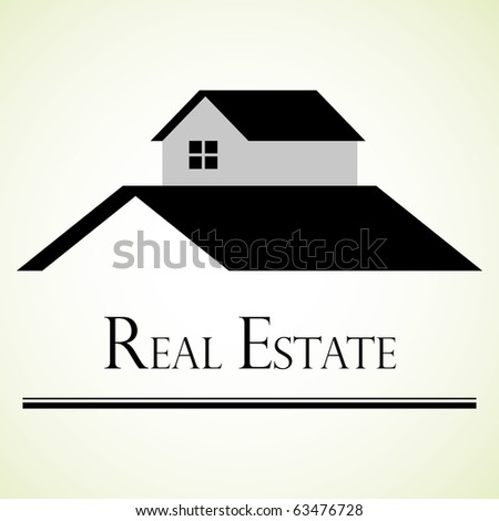 Real estate design concept. - stock vector