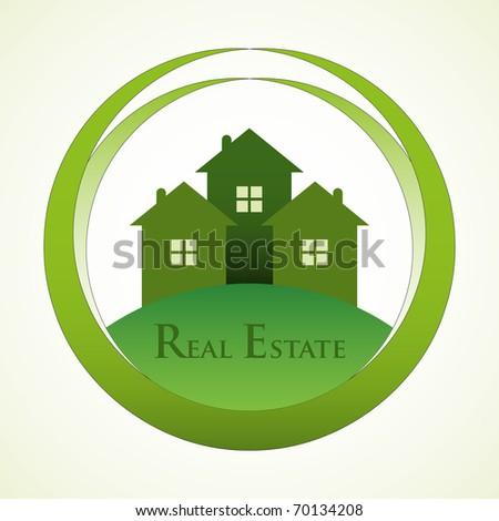 Real estate design concept. - stock vector