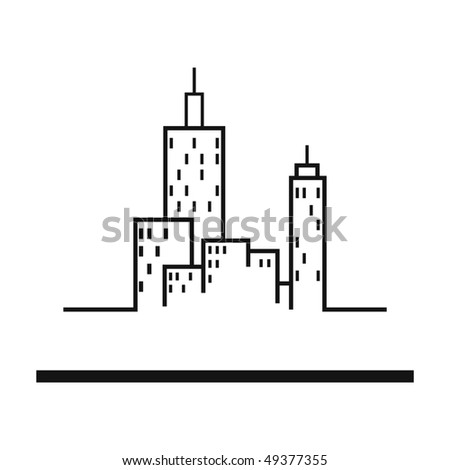 Real estate  design element - stock vector