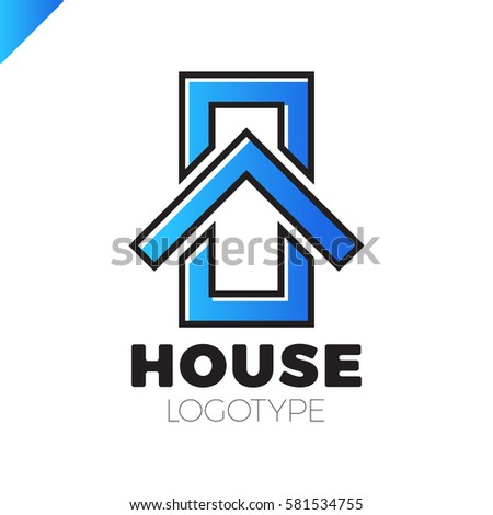 Stock images royalty free images vectors shutterstock for Minimalist house logo