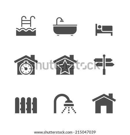 Bedroom Icon Stock Photos, Images, & Pictures | Shutterstock