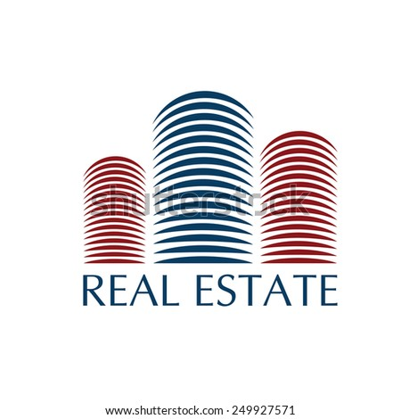 real estate illustration - stock vector