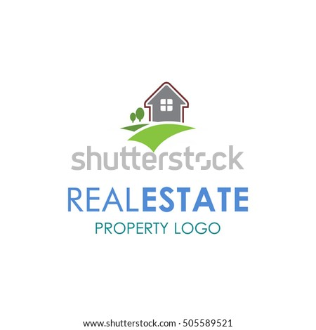 Real Estate Logo designs for business corporate visual identity. Home Houses and skyscrapers theme