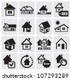 Real estate set - stock vector