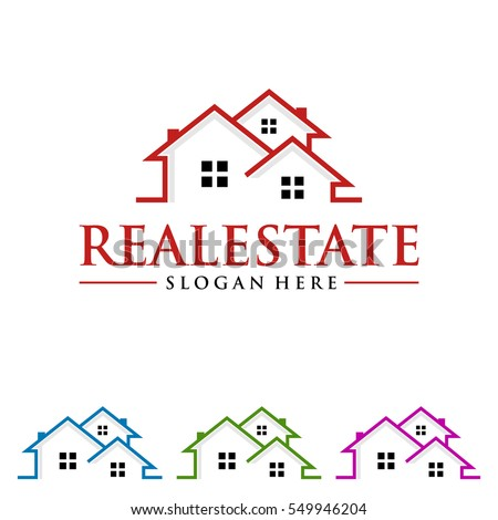 Real Estate Vector Logo Design Home Stock Vector 549946204 ...