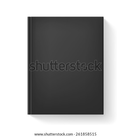 Realistic book. Illustration on white background for design. - stock vector