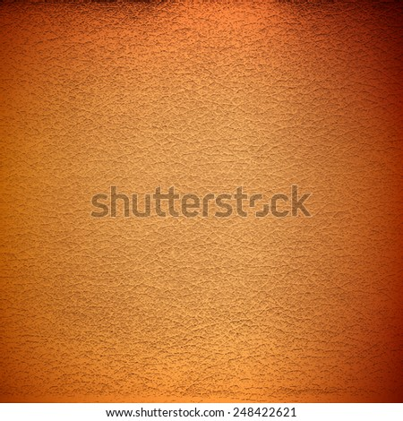 Realistic brown leather texture. Vector skin pattern. Decorative material background. - stock vector