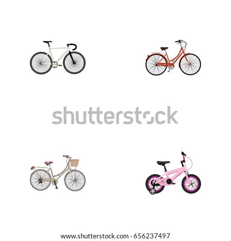 Realistic Childlike Road Velocity Brand Vector Stock Photo Photo