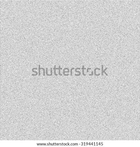 Realistic gray linen texture pattern. Gray seamless linen background texture. Seamless texture of gray cloth. Vector illustration. Vector eps10. - stock vector