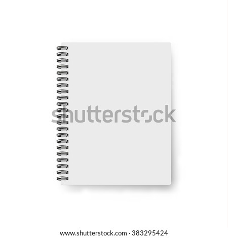 Realistic template notebook blank cover design stock vector hd realistic template notebook blank cover design school business diary accmission Choice Image