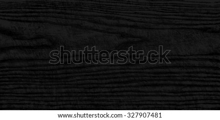 Realistic texture wood plank with natural structure. Empty black color background horizontal size. This vector illustration design elements save in 10 eps - stock vector
