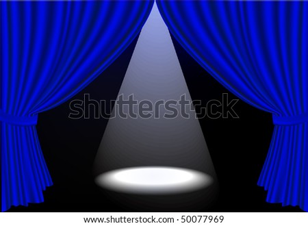 Curtains Ideas blue stage curtains : Blue Theatre Curtains Stock Photos, Royalty-Free Images & Vectors ...