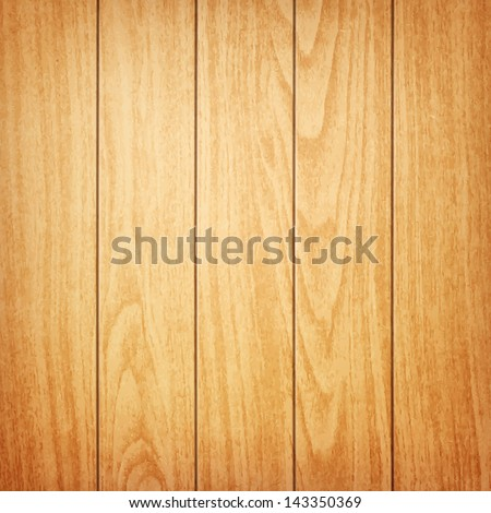 realistic wood background eps10 - stock vector