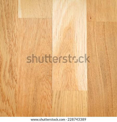 Realistic wooden floor texture. Vector background for your design. - stock vector