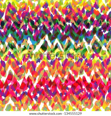really cool abstract animal seamless texture - stock vector