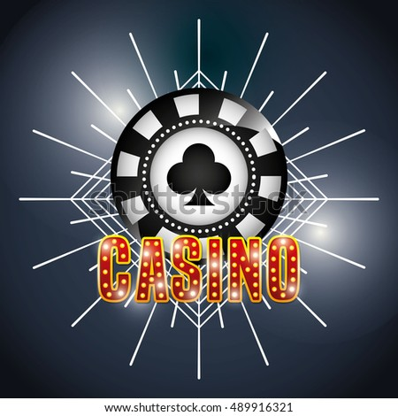 records money game casino vector illustration design