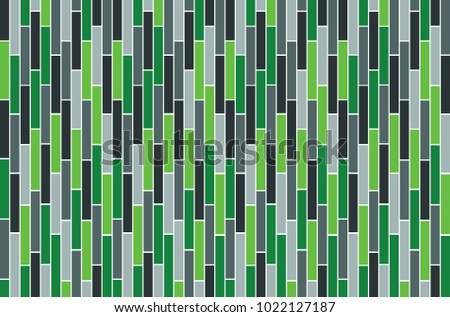 Rectangle Grey And Green Wallpaper Design Pattern Background Vector Eps10