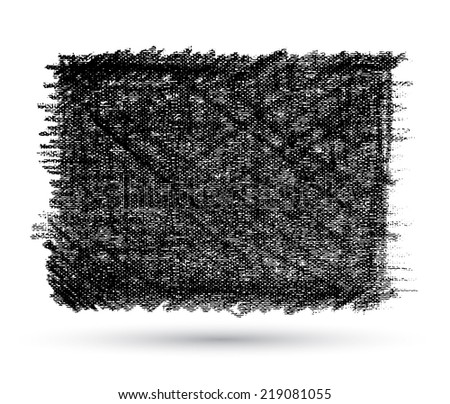 Rectangle texture canvas, Vector illustration. Can use for banner promotion printing and web. - stock vector