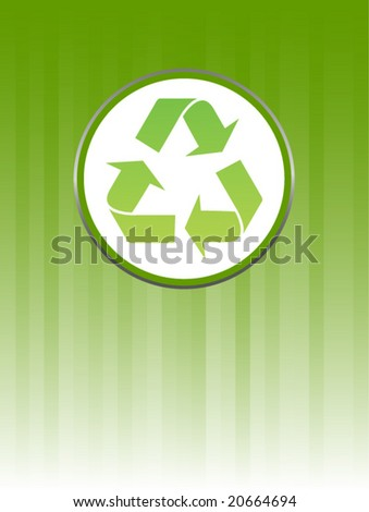 recycle background - vector image